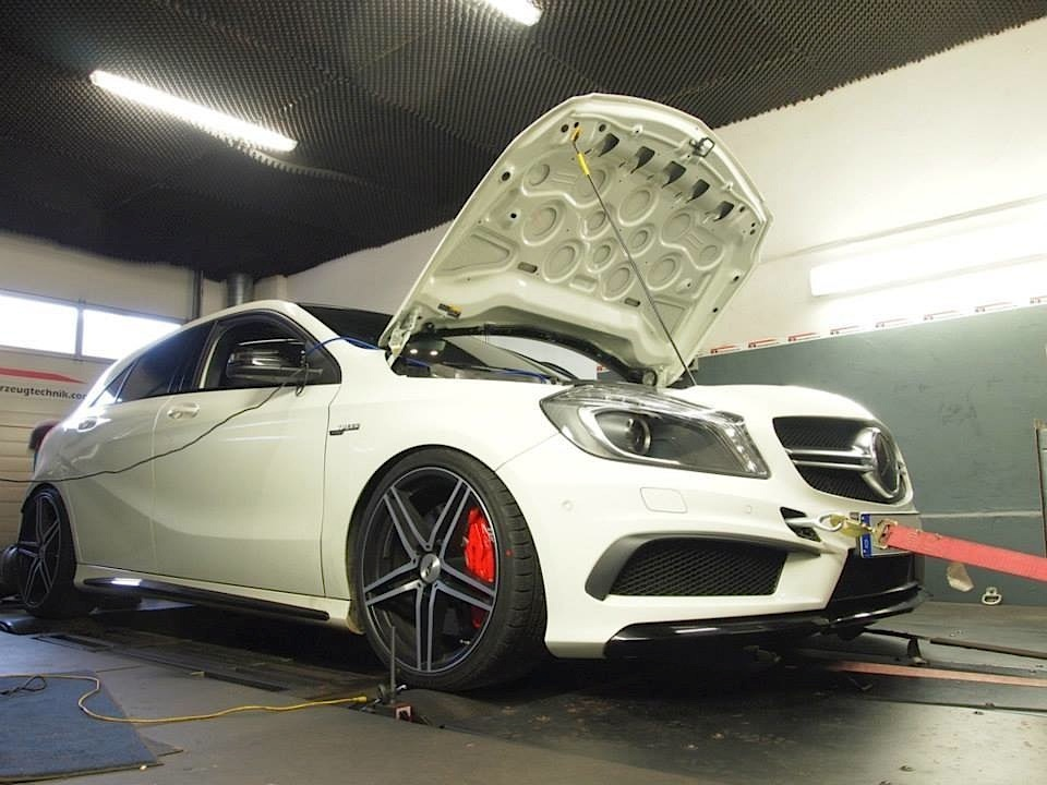 this 435 hp a 45 amg by rebellion automotive is an all weather monster autoevolution. Black Bedroom Furniture Sets. Home Design Ideas