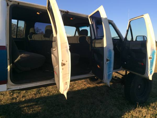 This 6-Door 1992 Ford F-350 with an 11-foot Extended Bed Is Up for