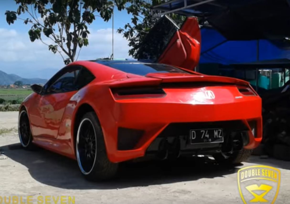 This acura nsx replica from indonesia predates the actual nsx
