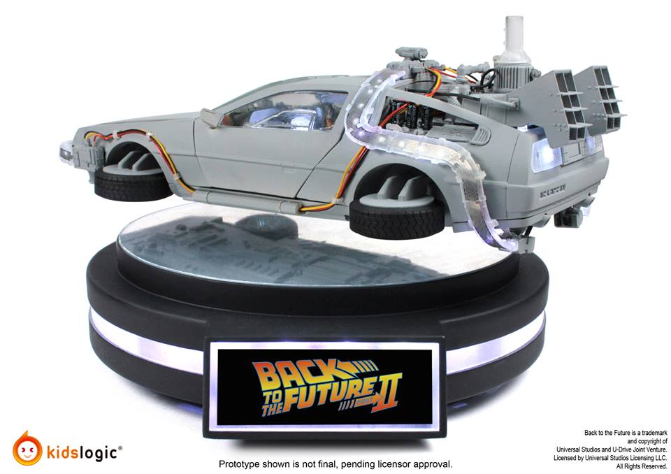 This Awesome 1 20 Scale DeLorean Time Machine That Levitates Is Really Hard To Get