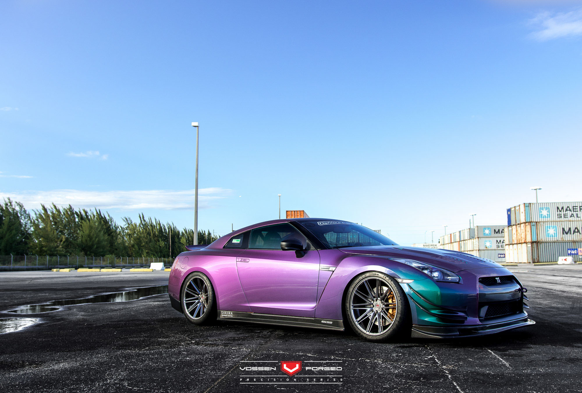 This Bearded Man Has An Rwd Nissan Gt R With Color Flip