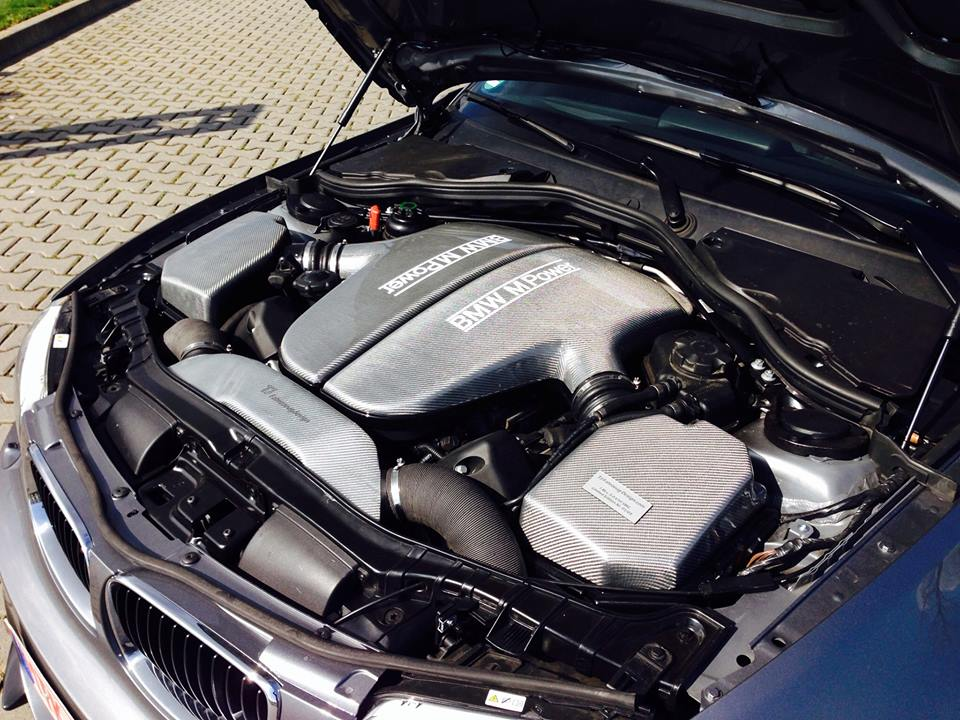 This Bmw 1 Series Coupe Has A V10 Under The Bonnet