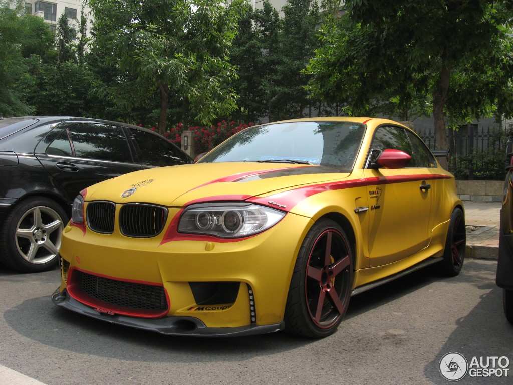 This BMW 1M Coupe Is all about Germany - autoevolution