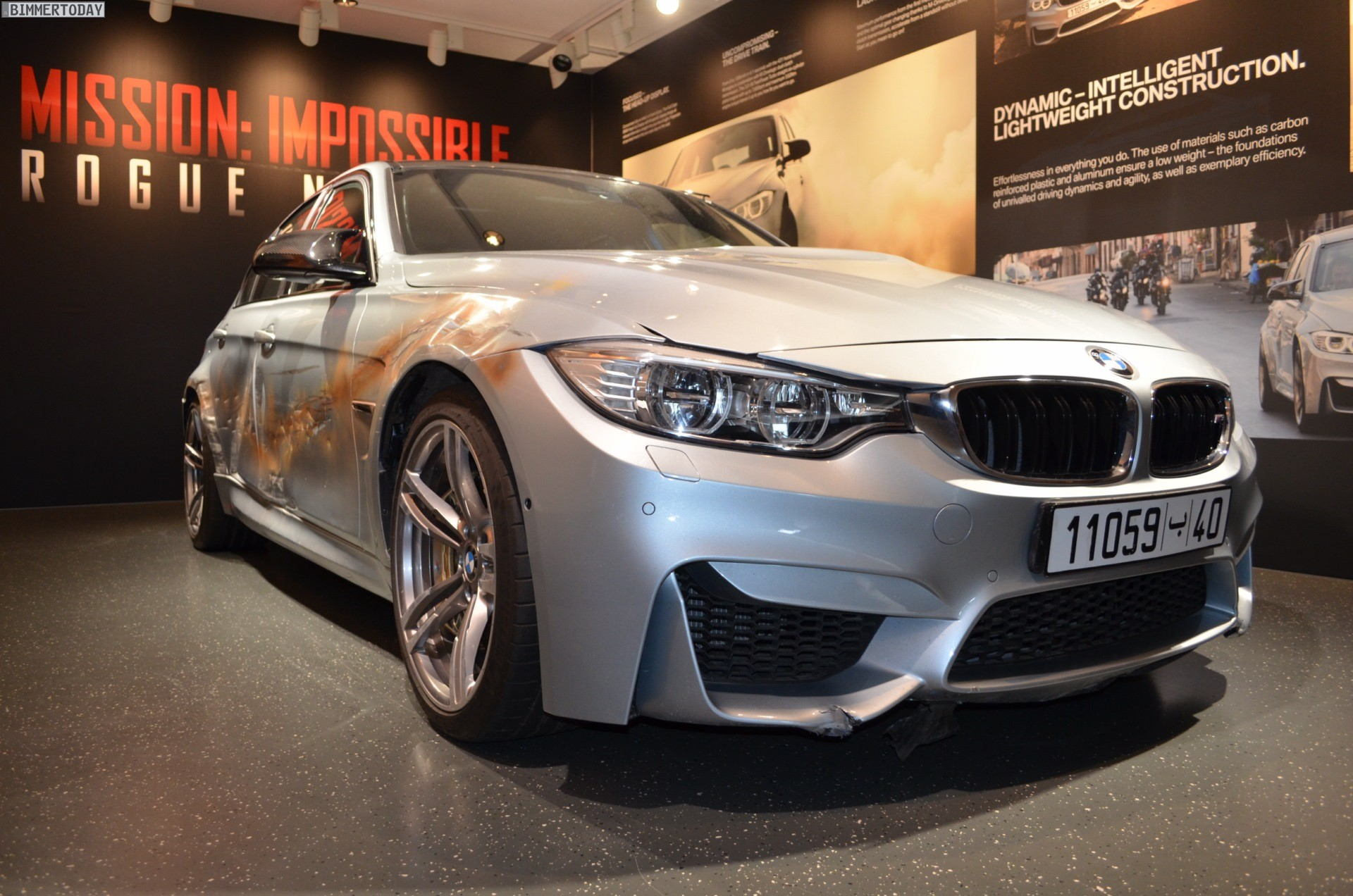 This Bmw M3 Filled With Bullet Holes Comes Straight From The Set Of Mission Impossible 5
