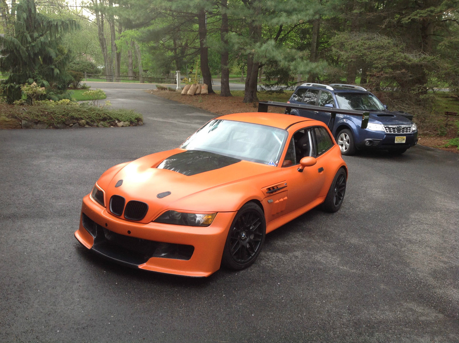 Bagged Bmw Z3 M Coupe Shows Us That All Things Have Their Beauty Autoevolution