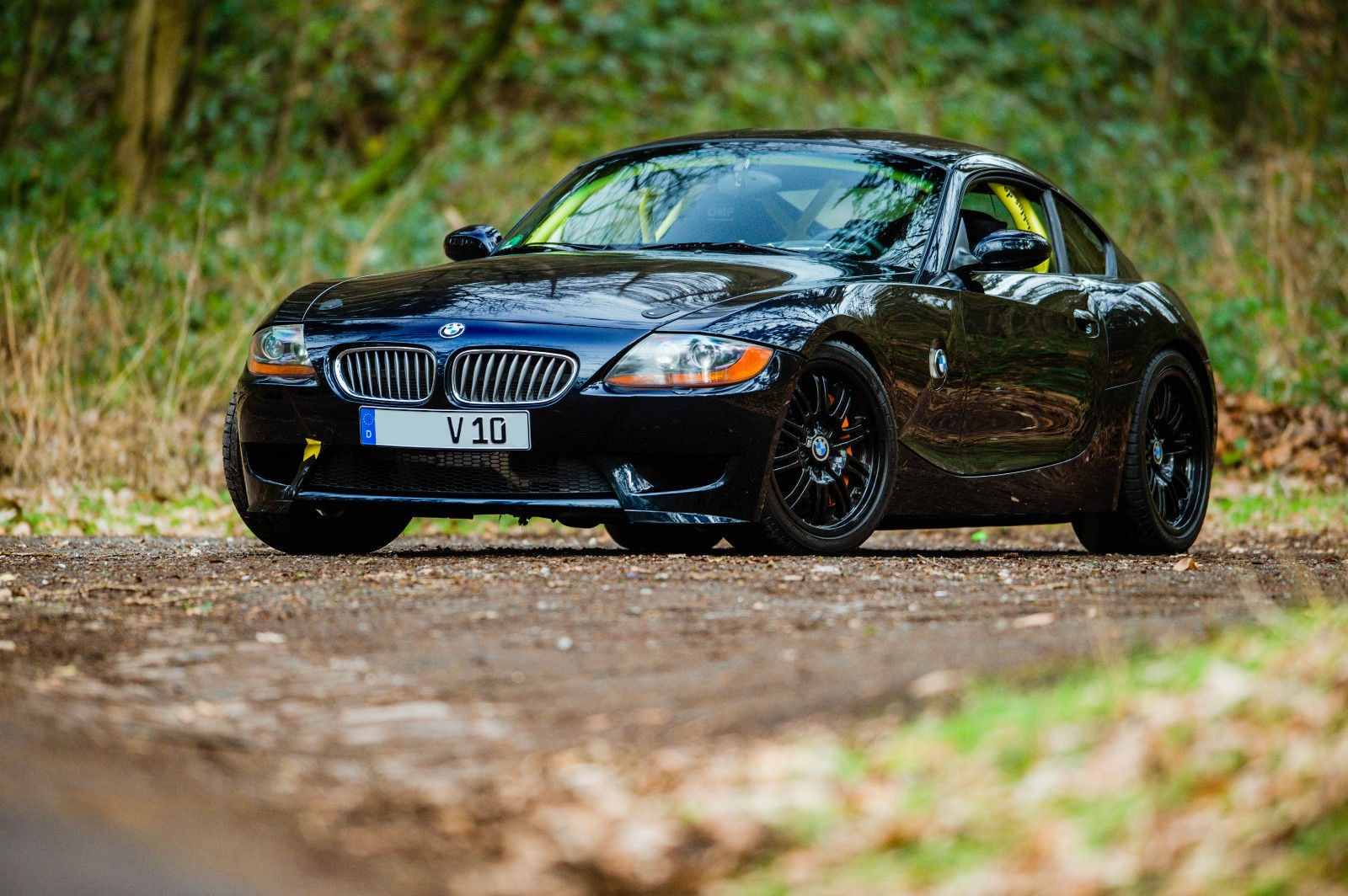 This Bmw Z4 Coupe Is Glued To A Viper V10 Engine
