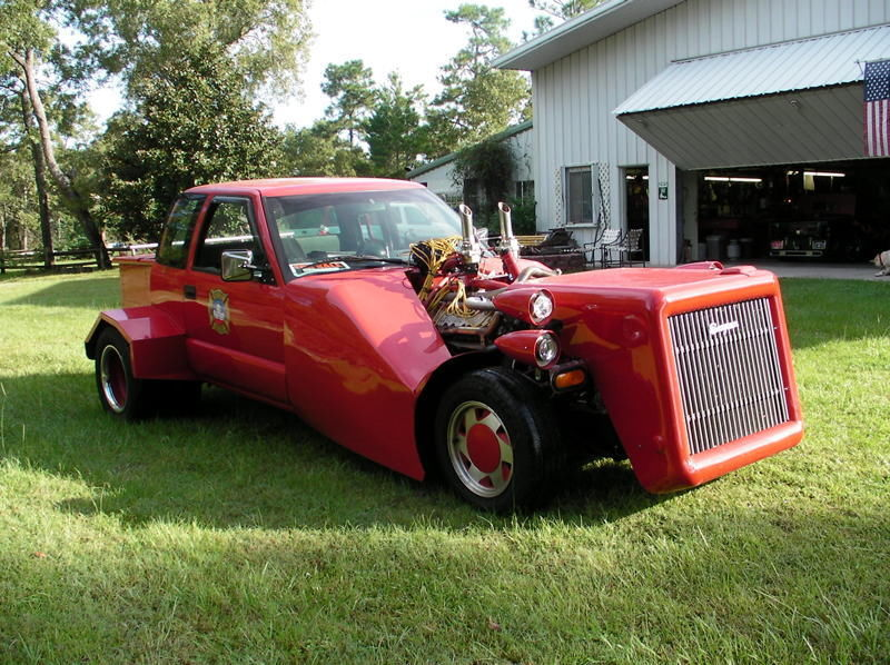 This Chopped Chevrolet Pickup Fire Truck Has A Place In