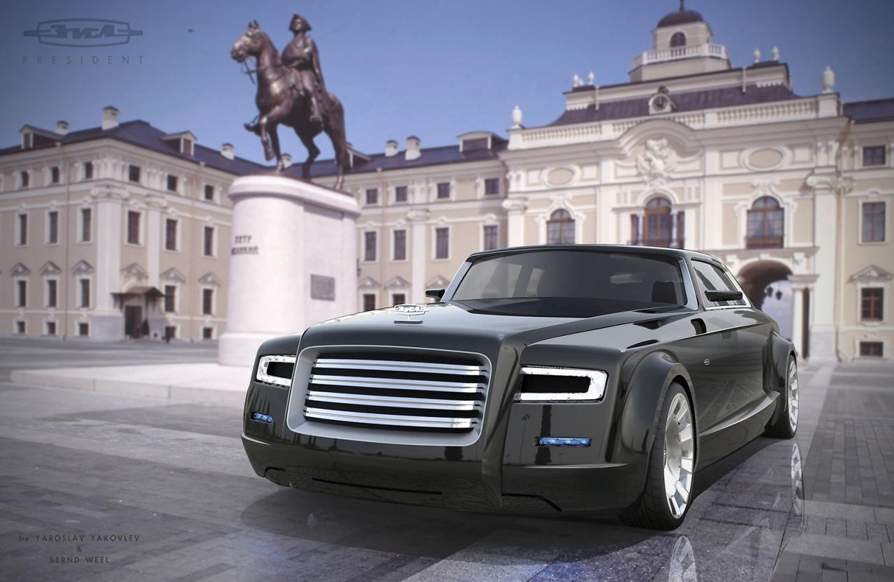 This Could Be Vladimir Putin S Next Limo Autoevolution