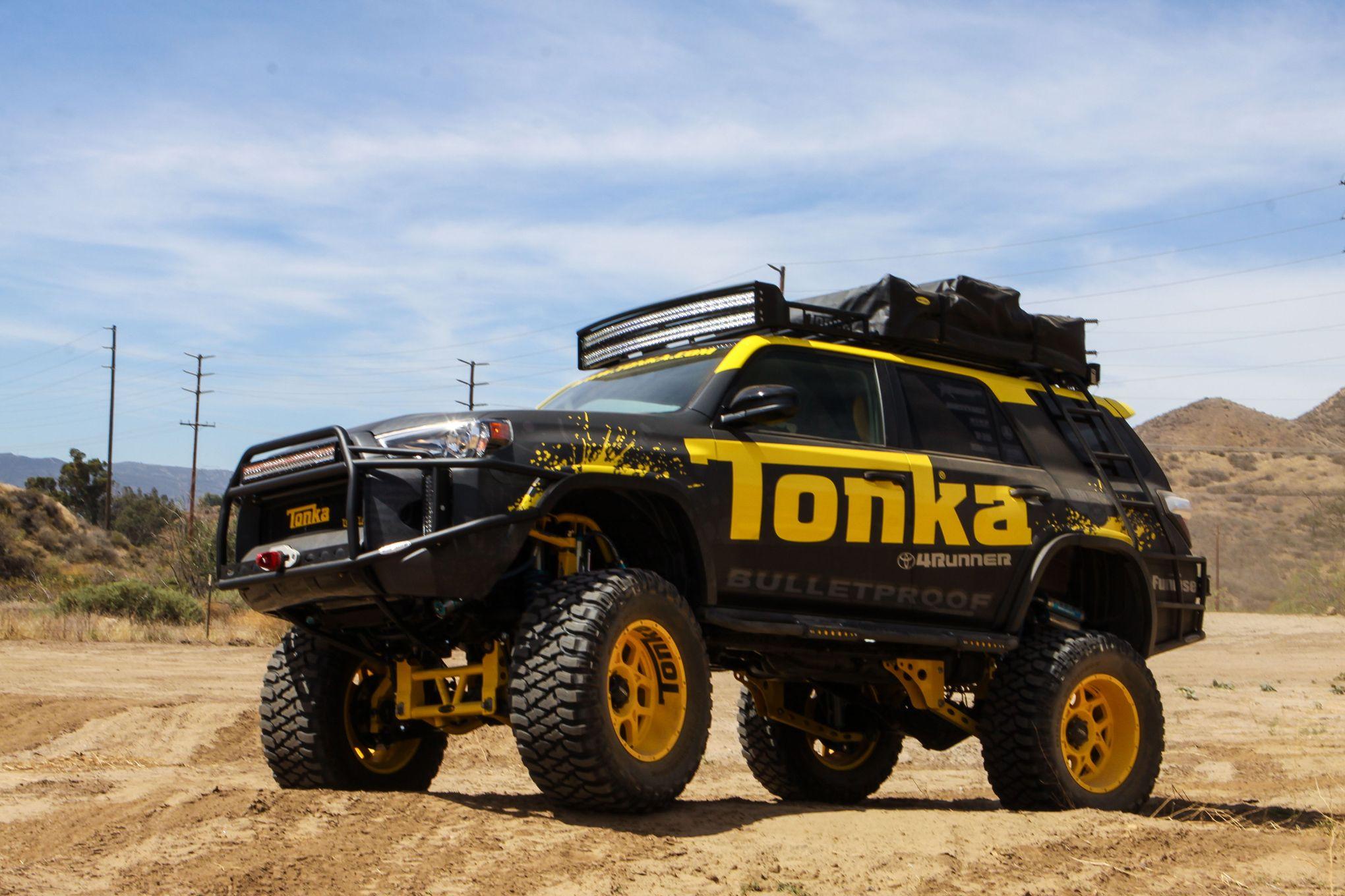 Custom Toyota 4runner >> This Custom Toyota 4runner Is Tonka Toys Newest Full Size