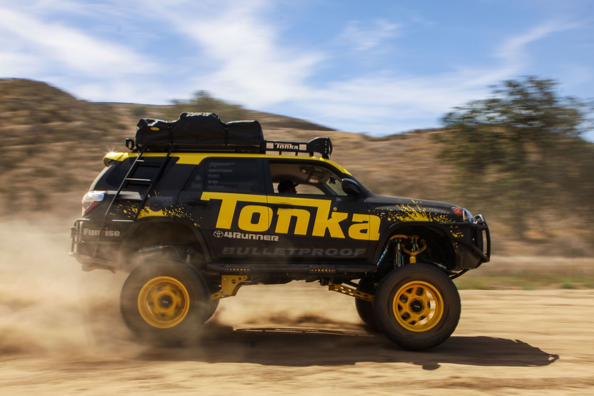 This Custom Toyota 4runner Is Tonka Toys Newest Full Size Ride Autoevolution