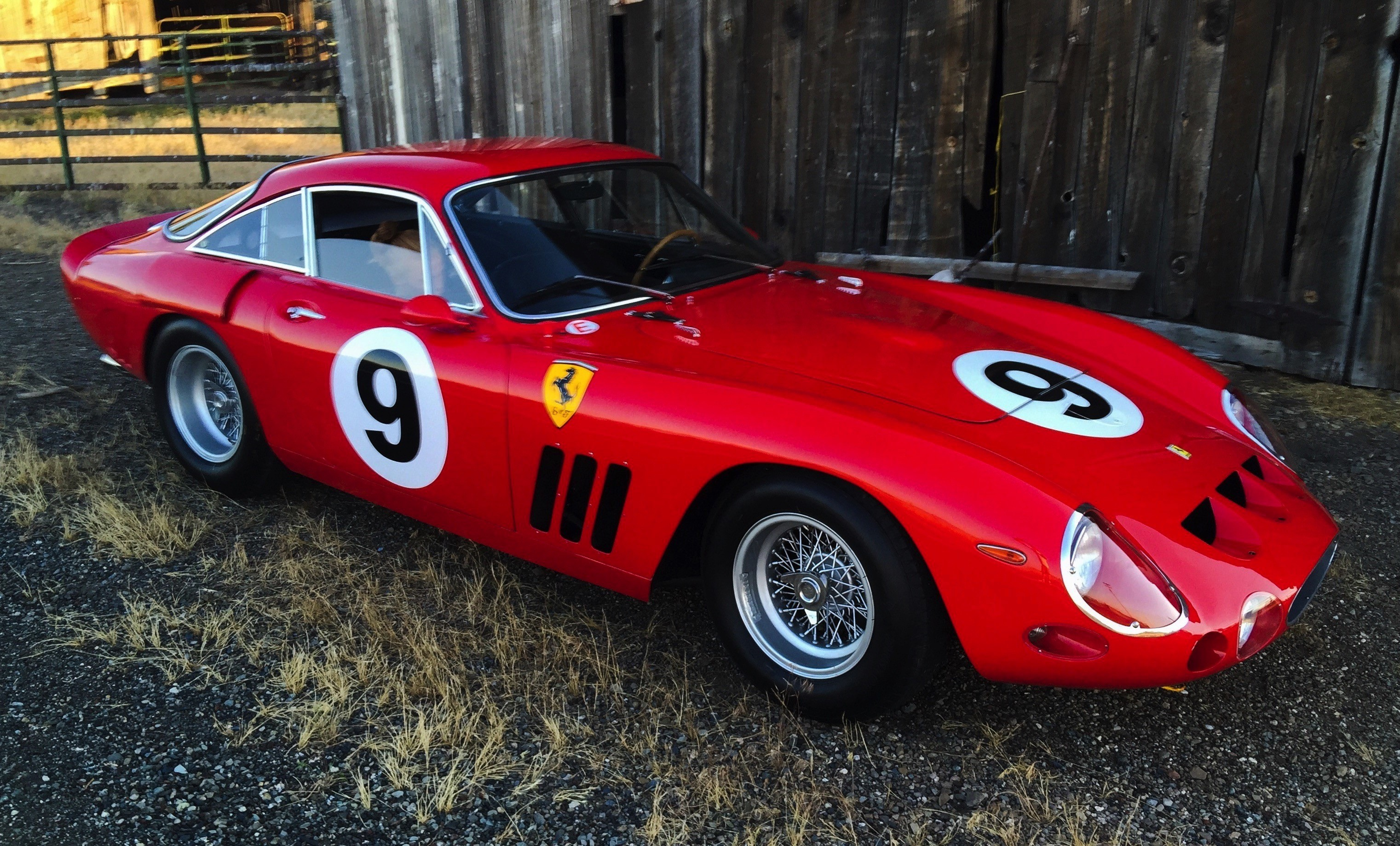 This Ferrari 330 Lmb Once Hit 300 Km H On The Mulsanne