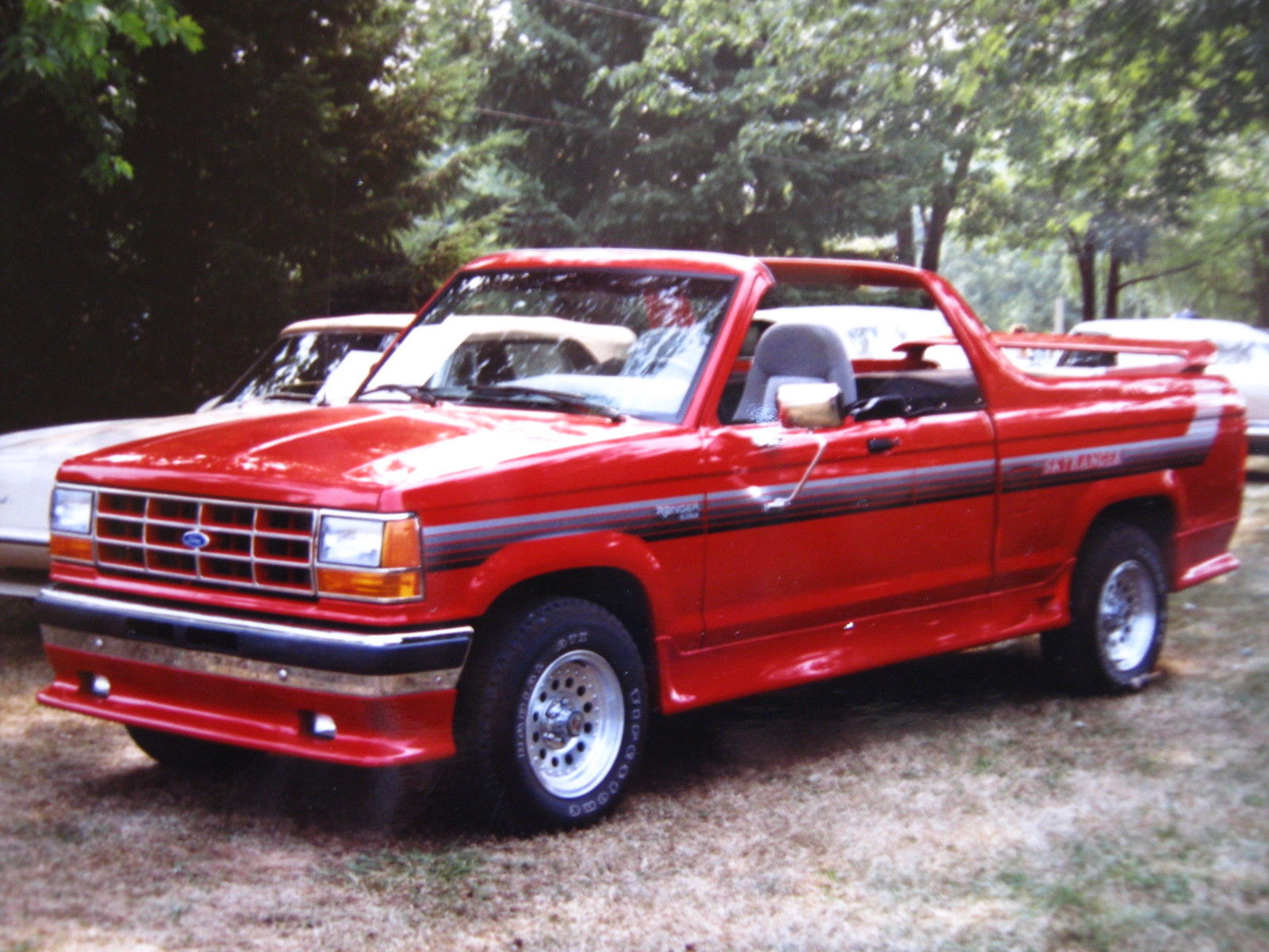 this ford skyranger convertible is a rare pickup truck. Black Bedroom Furniture Sets. Home Design Ideas