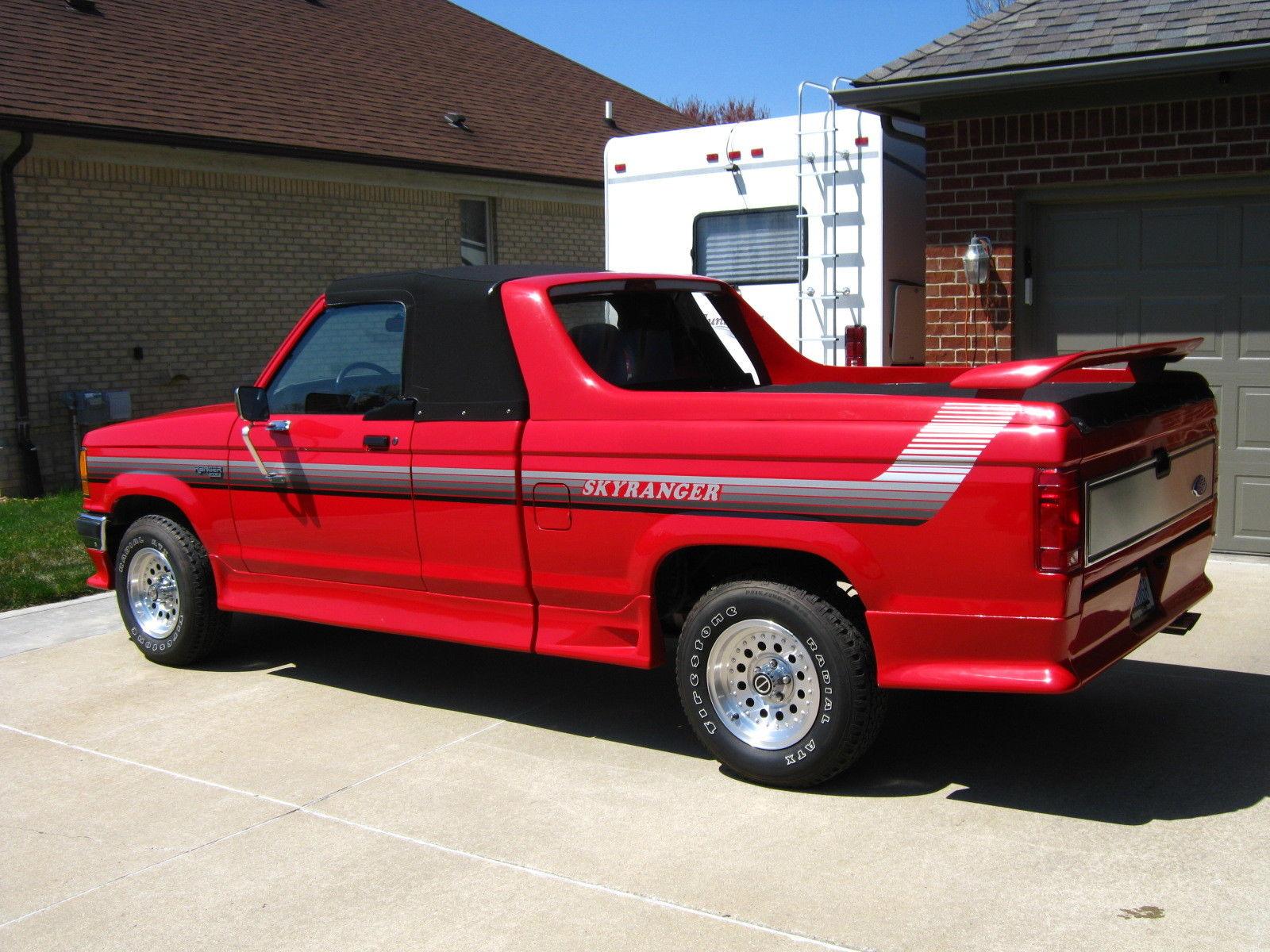 This Ford Skyranger Convertible Is A Rare Pickup Truck Photo Gallery on 1989 Dodge Dakota Steering Column