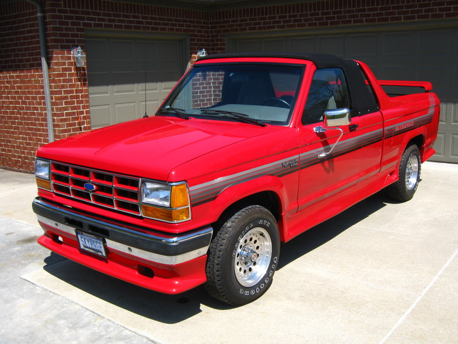 this ford skyranger convertible is a rare pickup truck