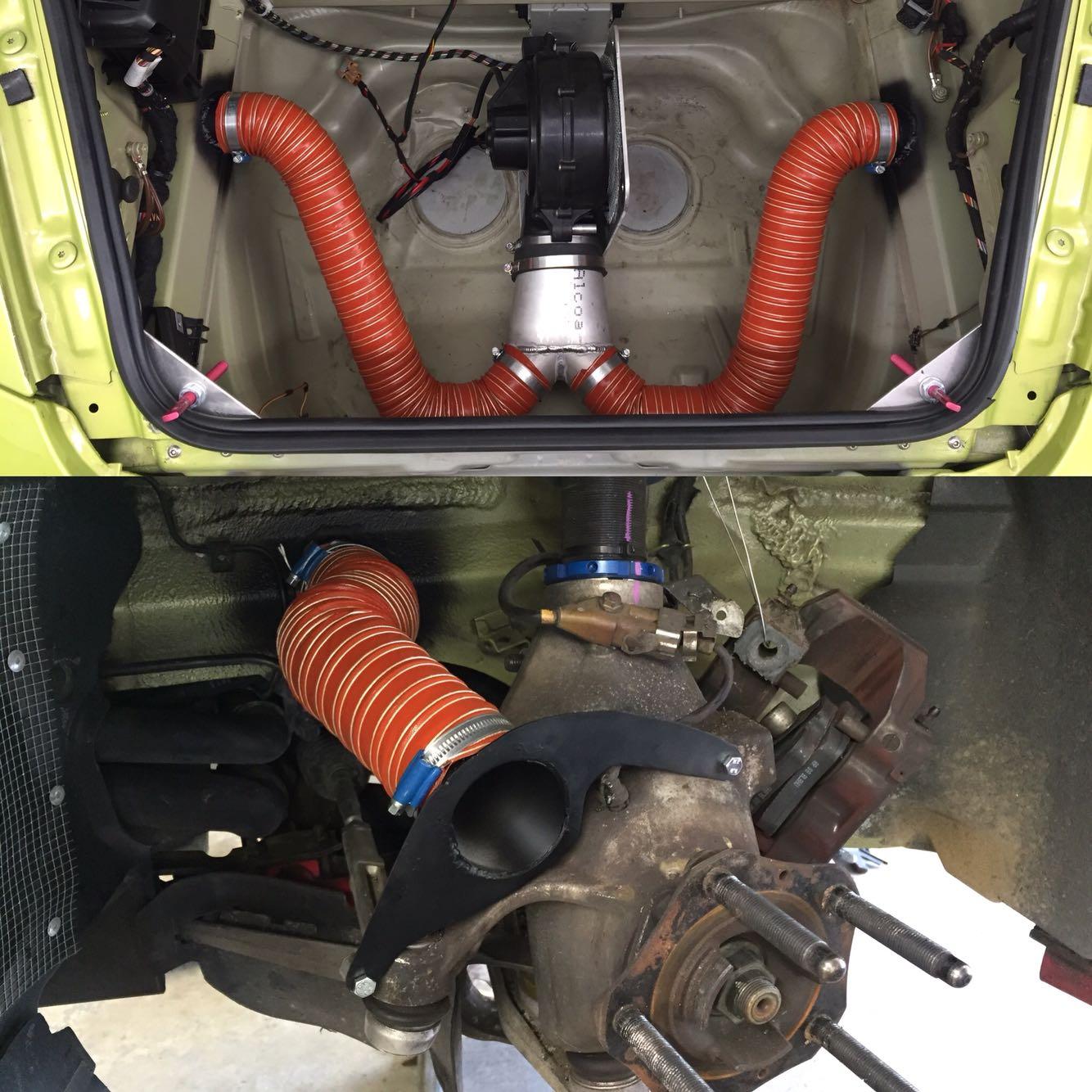 2016 Porsche Panamera Gts >> This Guy Built Sweet Brake Cooling Parts for a Porsche ...