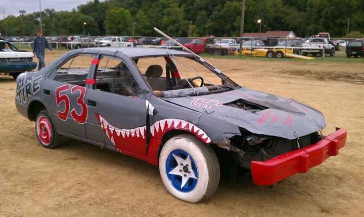 How To Turn A Toyota Camry Into A Demolition Derby Car