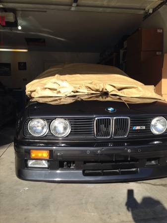 This guy wants 42 000 for his garage queen e30 m3 for Bmw nasa garage juillet niort