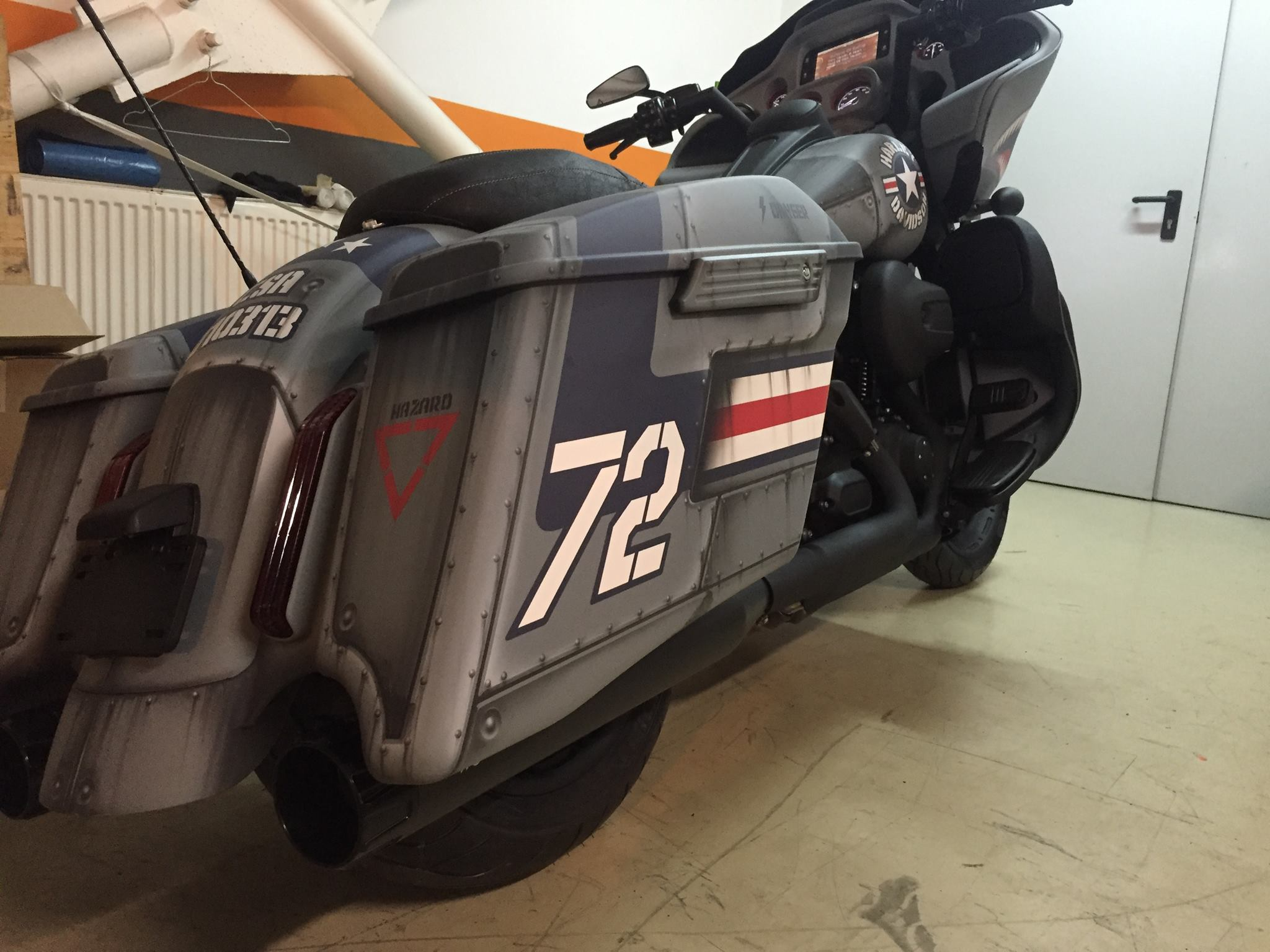 2010 Harley Davidson Cvo Ultra Classic Electra Glide Dark 15793 also Motorcycle together with This Harley Davidson Road Glide Totally Nails It 105863 besides Cvo Street Glide 2016 Flhxse likewise 04. on harley davidson paint colors for 2016