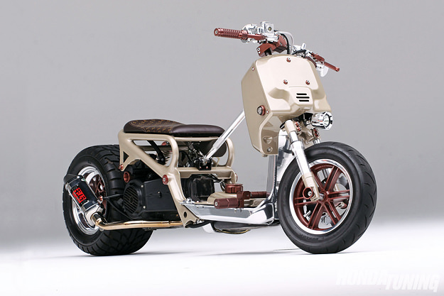 This Is a Custom Scooter, Not A Huge Chopper - autoevolution