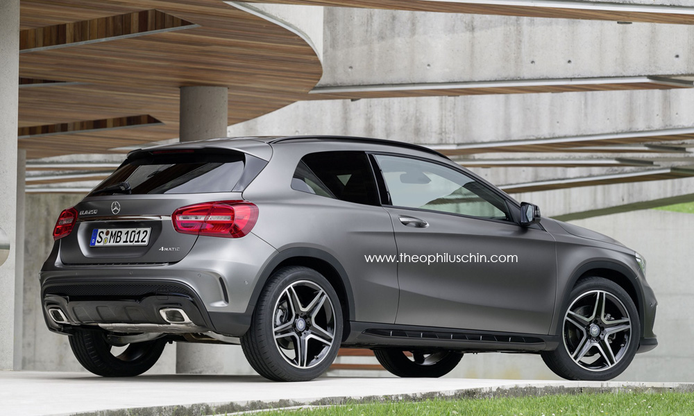 This is how a gla coupe could look like autoevolution for Best looking mercedes benz models
