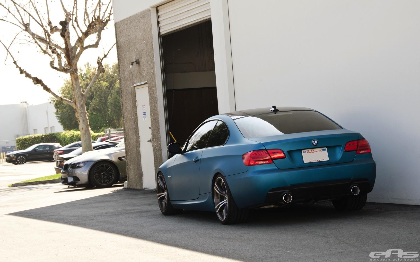 This Is Rare Matte Atlantis Blue Bmw 335i Autoevolution