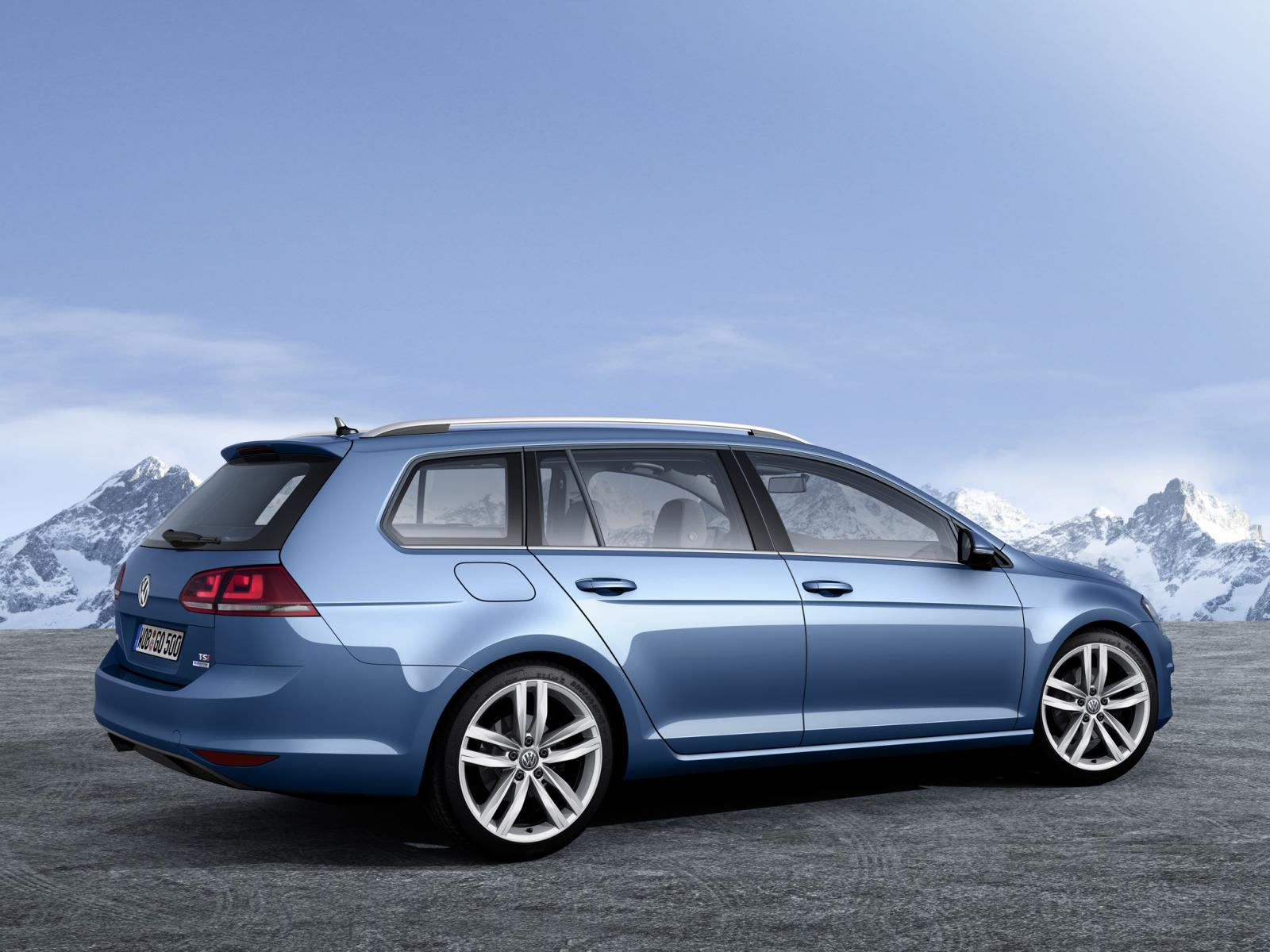 This Is the 2013 Volkswagen Golf Variant and Next Jetta SportWagen - autoevolution