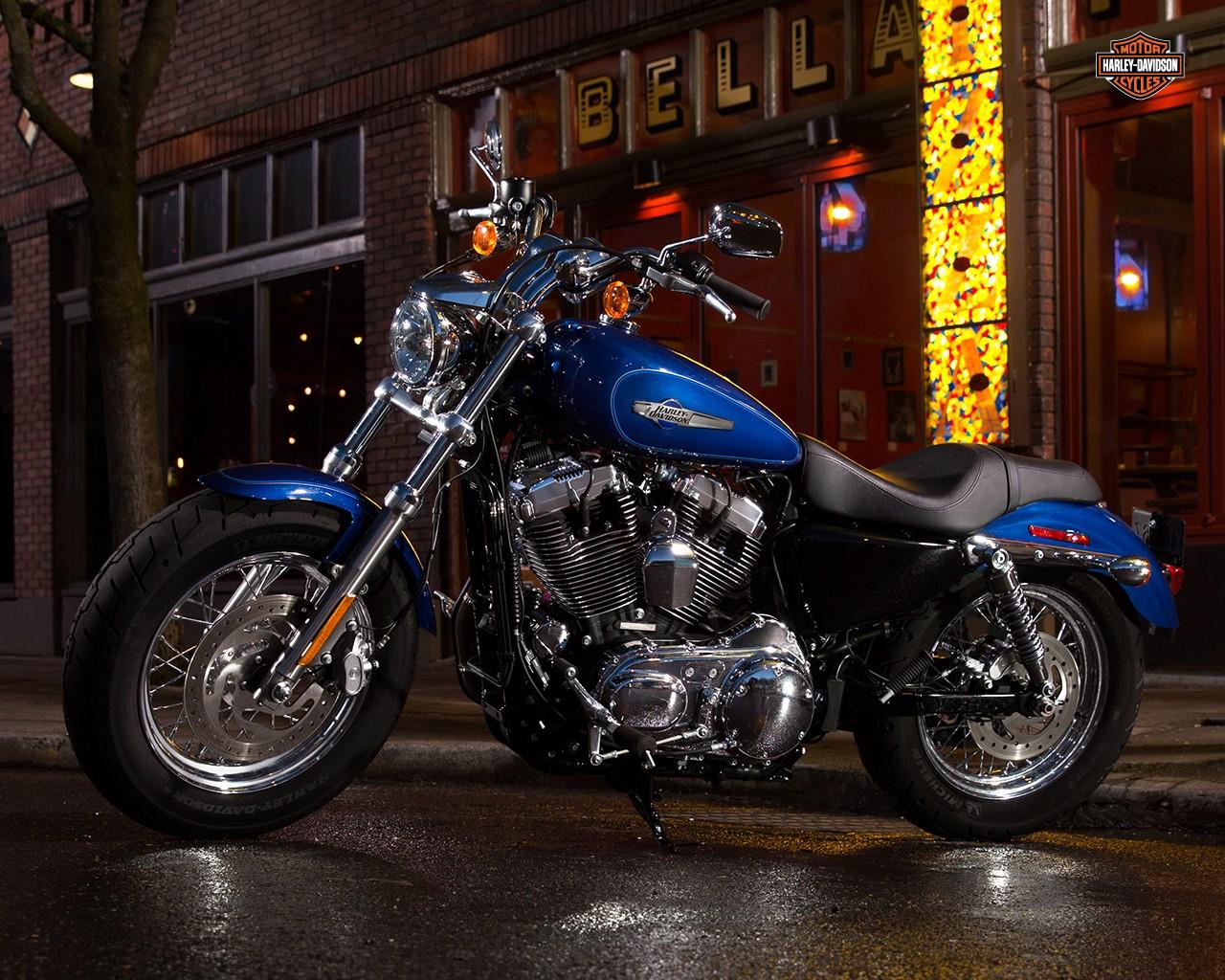 This Is The 2015 Harley Davidson Sportster 1200 Custom Autoevolution