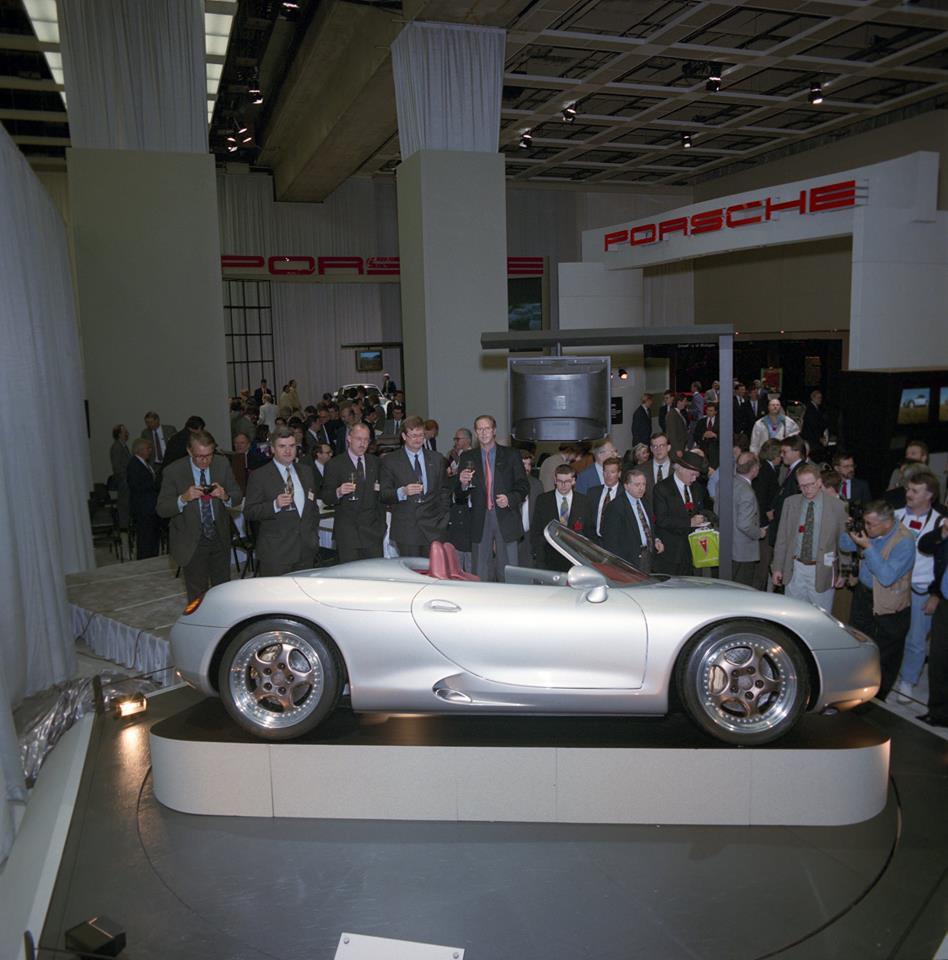 This Is The Concept Car That Started The Porsche Boxster