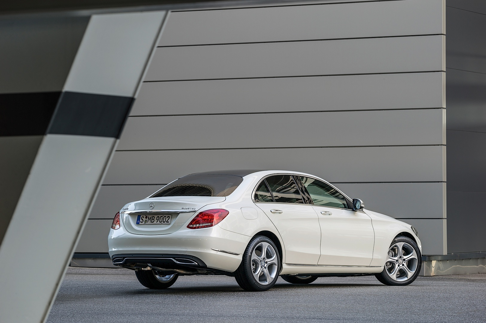 revealed spied class c gallery photo gtspirit benz mercedes uncovered completely