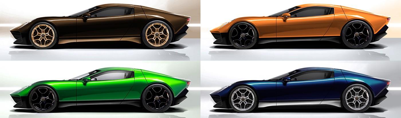 ... Lamborghini Miura Nuovo Concept II ...