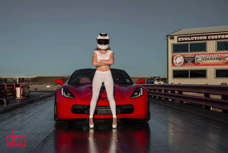 This Is The Stig S Wife And She Drives A Corvette