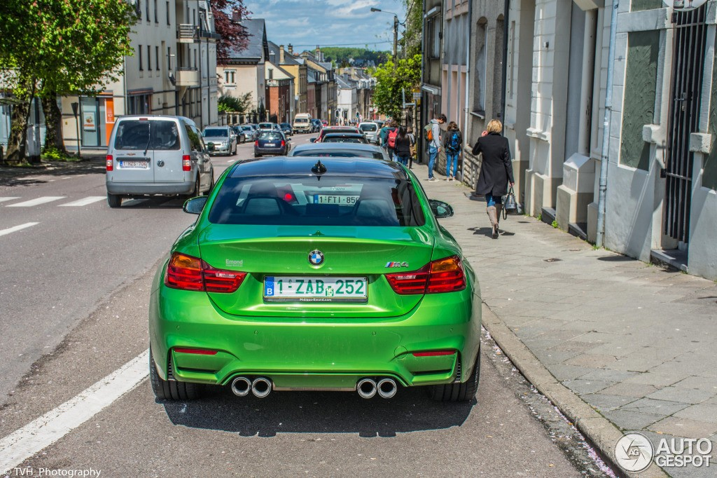Auto Paint Colors >> This Java Green Individual BMW M4 Seems Out of this World - autoevolution