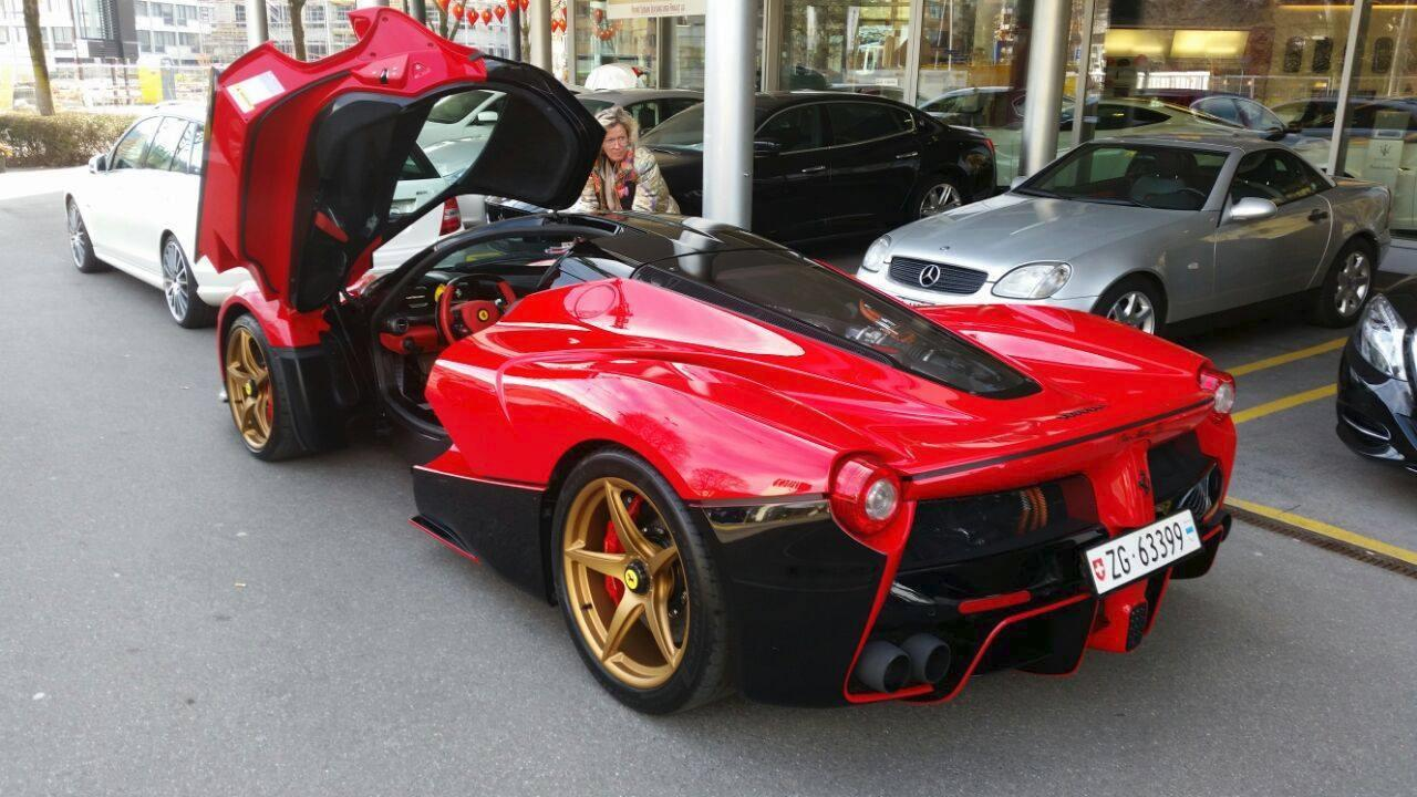 This Laferrari Livery Reminds Us Of The 870 000 Ferrari