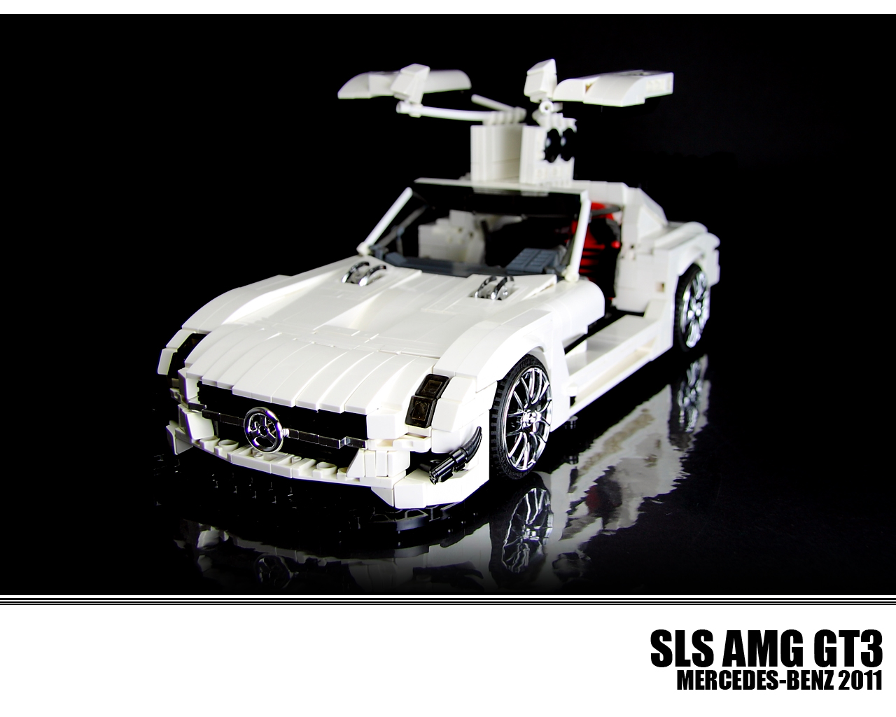 2017 Nissan 370z Convertible >> This Lego Technic SLS AMG GT3 is All Kinds of Awesome - autoevolution