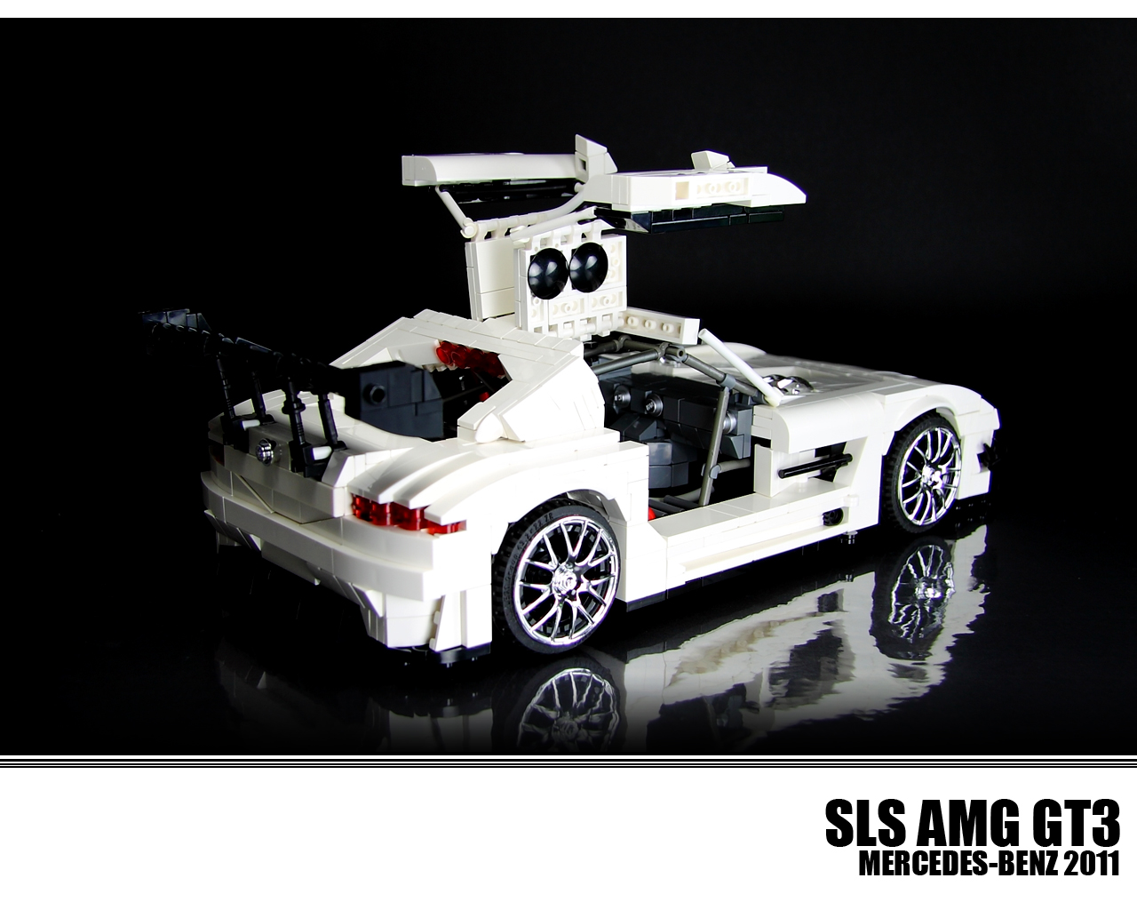 This Lego Technic Sls Amg Gt3 Is All Kinds Of Awesome