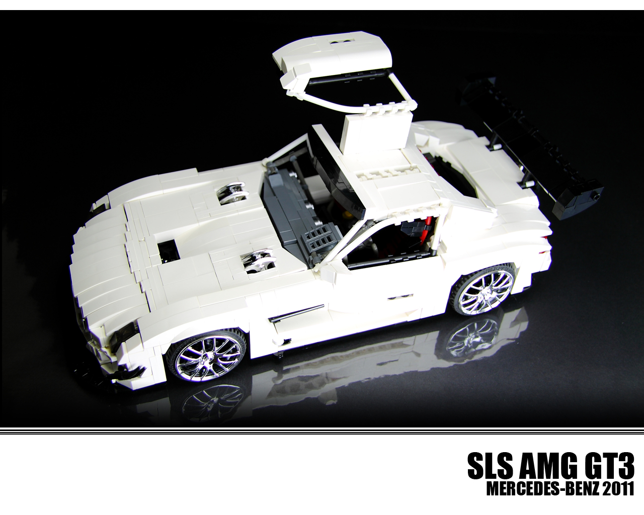 This Lego Technic SLS AMG GT3 is All Kinds of Awesome ...