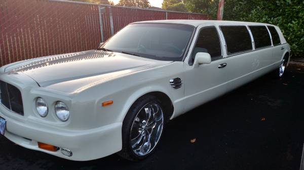 This Lincoln Stretch Limo Is Not A Bentley But