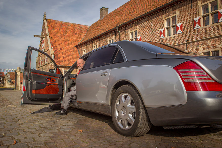 This Maybach 62 Has Over One Million Kilometers