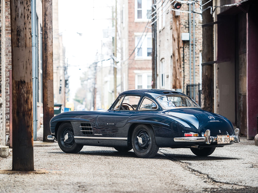Interesting one off mercedes benz 300 sl flick modified by for Mercedes benz gullwing