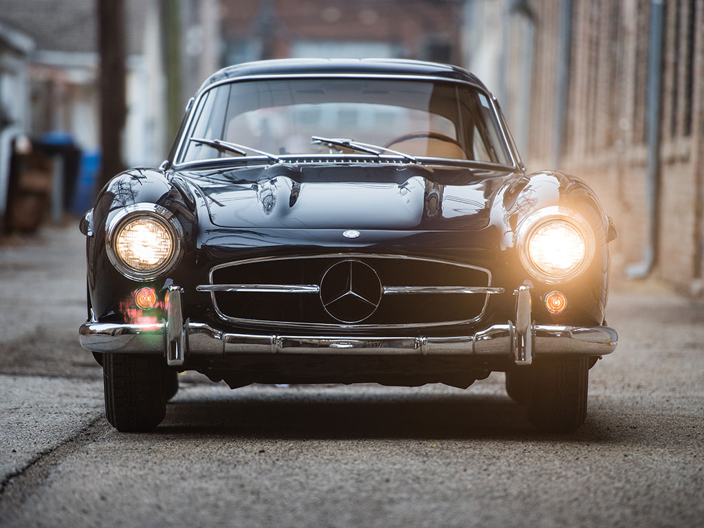 Interesting One Off Mercedes Benz 300 Sl Flick Modified By