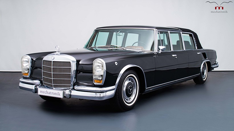 This mercedes benz 600 pullman landaulet is fit for a for Mercedes benz royale 600 price