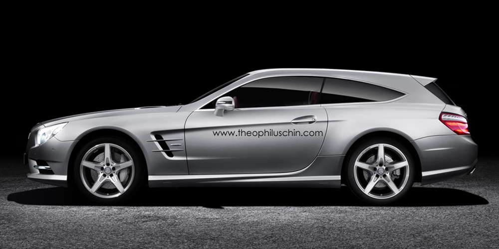 This Mercedes Benz Sl Shooting Brake Is Ready For Hunting Autoevolution