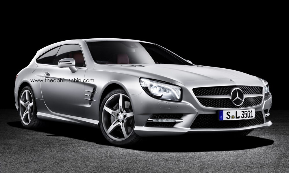 This Mercedes Benz Sl Shooting Brake Is Ready For Hunting
