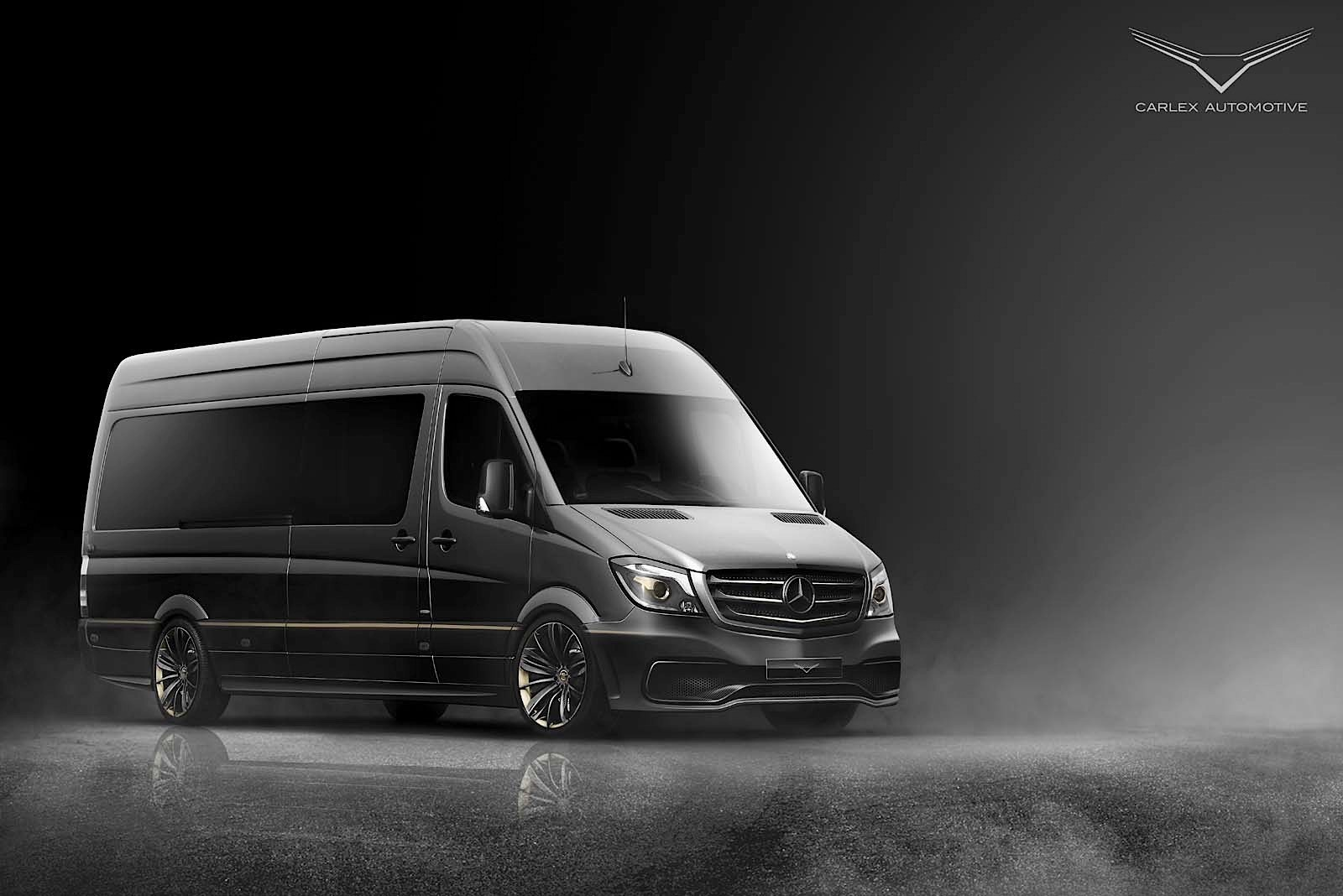 this mercedes benz sprinter van is a mobile taj mahal. Black Bedroom Furniture Sets. Home Design Ideas