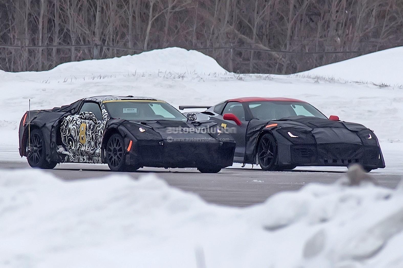 Mid engined 2019 chevrolet corvette c8 to debut at 2018 detroit auto show autoevolution