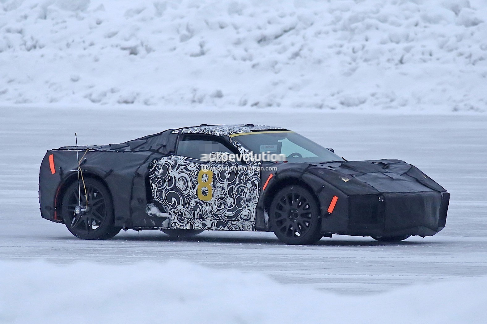 This Mid Engine Prototype Could Be A Future Cadillac Supercar