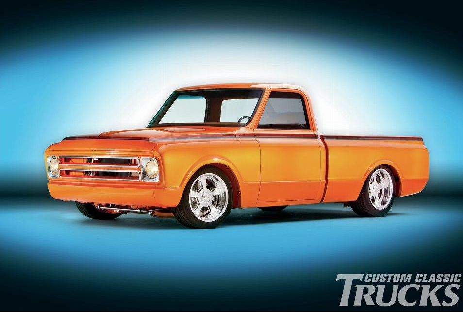 This Orange Pearl Chevrolet C10 Truck Is A True Classic
