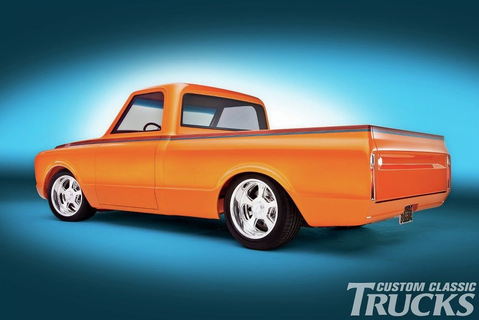 This Orange Pearl Chevrolet C Truck Is A True Classic Photo Gallery on 1967 Chevy C10 Truck