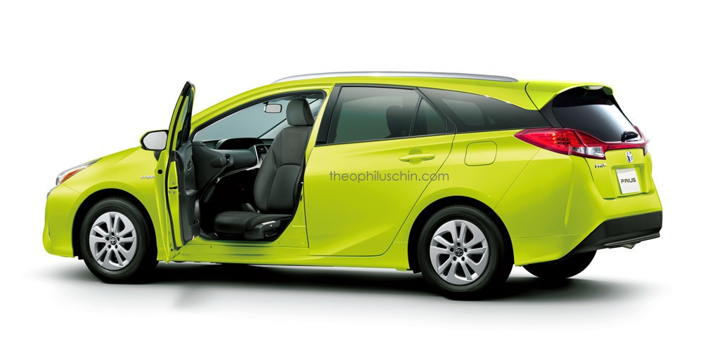 This Prius Wagon Rendering Is What Every Toyota Fan Will Want ...