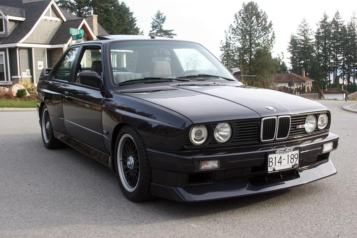 This Rare 1988 Bmw E30 M3 Evo Ii Costs 100 000